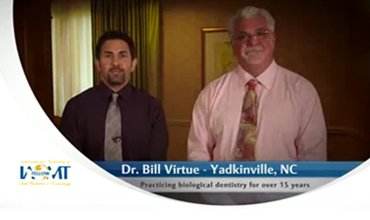 Dr. William E. Virtue DDS, NMD, at Virtue Dental Care Education Video About IOMAT