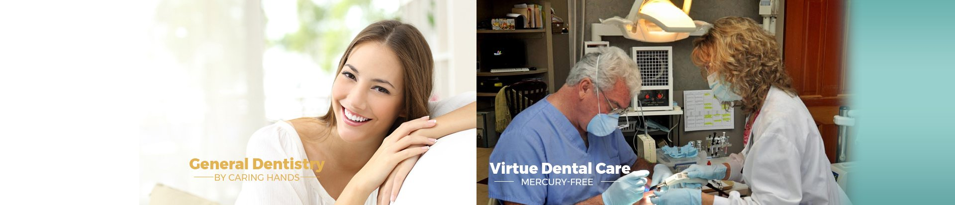 Dr. William E. Virtue DDS, NMD, at Virtue Dental Care Main Slider Mobile Banner